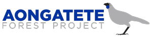 Aongatete Forest Project Logo